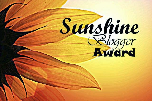 Sunshine Blogger Award + Tweede oproep winnaar weggevertje!