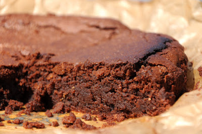 Eenvoudige maar overheerlijke chocoladetaart!