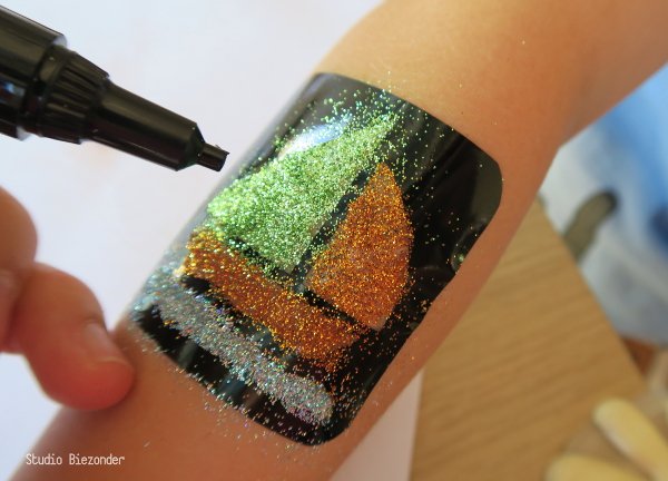 glittertattoos tutorial